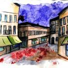 Ádám Anna - Tamási Lajos: Piros vér a pesti utcán